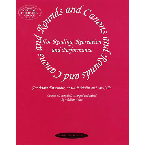 Alfred Rounds and Canons for Viola Ensemble (Book)-thumbnail