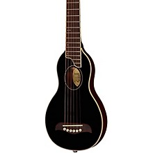 Rover Travel Guitar Black