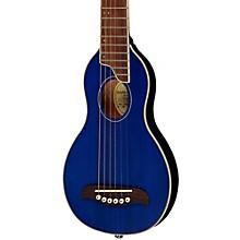 Washburn Rover Travel Guitar Level 1 Transparent Blue