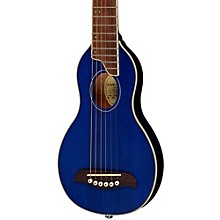 Rover Travel Guitar Transparent Blue