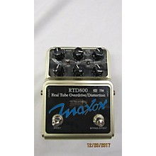 Maxon Rtd800 Real Tube Overdrive/distortion Effect Pedal