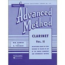 Hal Leonard Rubank Advanced Method for Clarinet Volume 2
