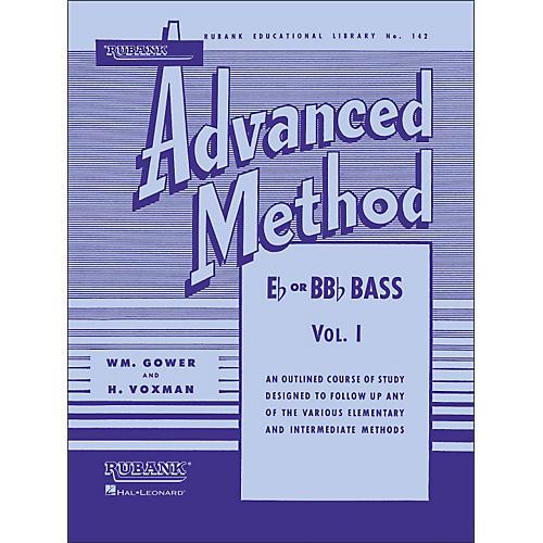 Hal Leonard Rubank Advanced Method for E Flat Or BB-Flat Bass Volume 1