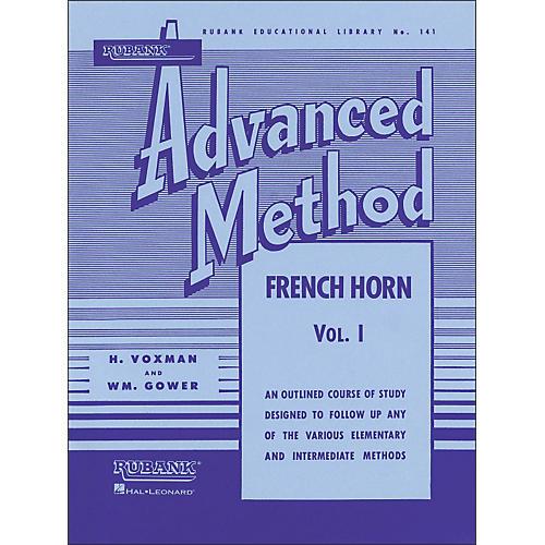 Hal Leonard Rubank Advanced Method for French Horn Volume 1-thumbnail
