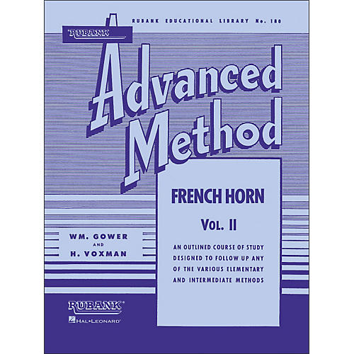 Hal Leonard Rubank Advanced Method for French Horn Volume 2-thumbnail