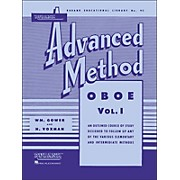 Hal Leonard Rubank Advanced Method for Oboe Volume 1
