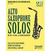 Hal Leonard Rubank Book of Alto Sax Solos - Easy Level Book/Audio Online