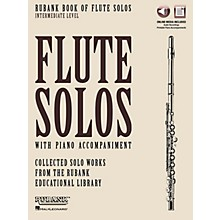 Rubank Publications Rubank Book of Flute Solos - Intermediate Level Rubank Solo Collection Series Softcover Media Online