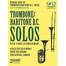 Hal Leonard Rubank Book of Trombone/Baritone B.C. Solos Easy - Intermediate Book/Audio Online