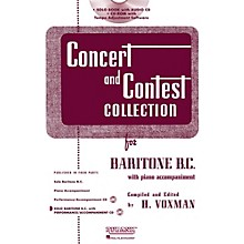 Hal Leonard Rubank Concert And Contest Collection Baritone B.C. Book/CD