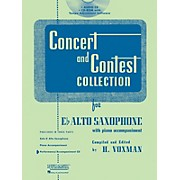 Hal Leonard Rubank Concert And Contest For Alto Sax - Accompaniment CD