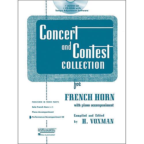 Hal Leonard Rubank Concert And Contest For French Horn - Accompaniment CD-thumbnail