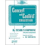 Hal Leonard Rubank Concert And Contest For Tenor Sax - Accompaniment CD