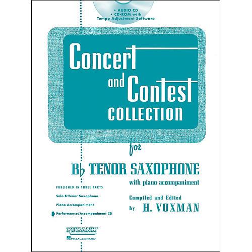 Hal Leonard Rubank Concert And Contest For Tenor Sax - Accompaniment CD-thumbnail