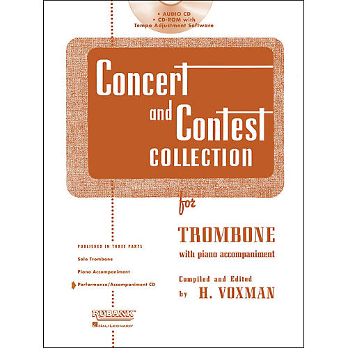 Hal Leonard Rubank Concert And Contest For Trombone - Accompaniment CD-thumbnail
