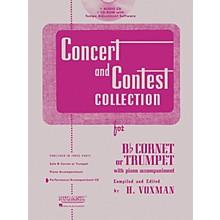 Hal Leonard Rubank Concert And Contest For Trumpet/Cornet - Accompaniment CD