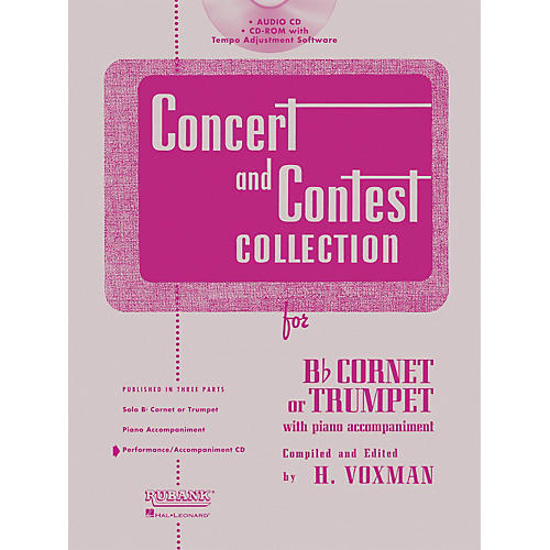 Hal Leonard Rubank Concert And Contest For Trumpet/Cornet - Accompaniment CD-thumbnail
