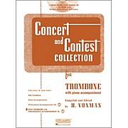 Hal Leonard Rubank Concert & Contest Collection Trombone Book/CD