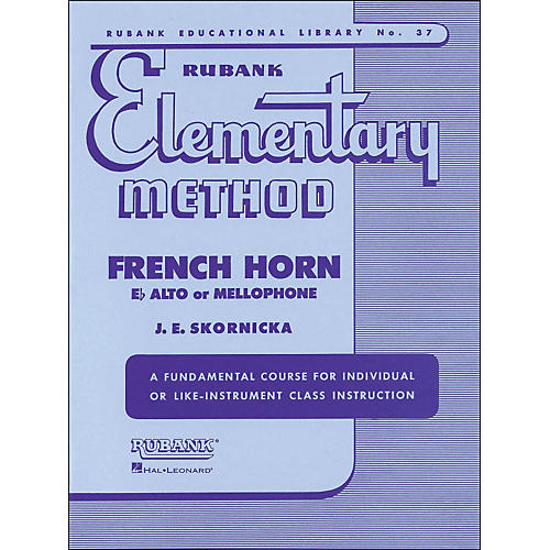 Hal Leonard Rubank Elementary Method French Horn In F Mellophone Or E Flat Alto-thumbnail