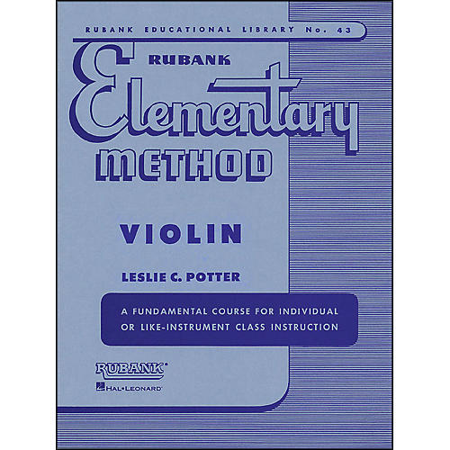 Hal Leonard Rubank Elementary Method Violin-thumbnail