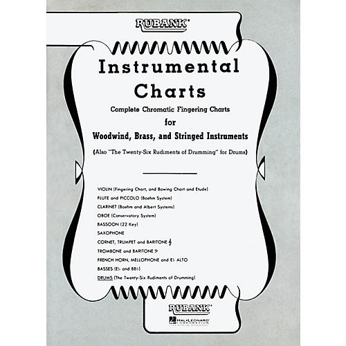 Hal Leonard Rubank Instrumental Drum Chart