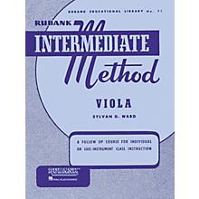 Hal Leonard Rubank Intermediate Method - Viola