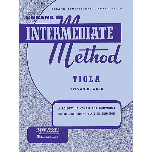 Hal Leonard Rubank Intermediate Method - Viola-thumbnail