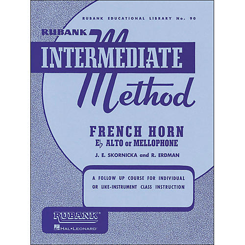 Hal Leonard Rubank Intermediate Method French Horn F Or E Flat-thumbnail