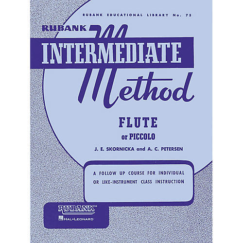 Hal Leonard Rubank Intermediate Method for Flute or Piccolo-thumbnail