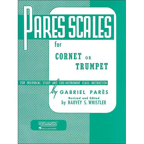 Hal Leonard Rubank Pares Scales - Coronet, Trumpet Or Baritone-thumbnail