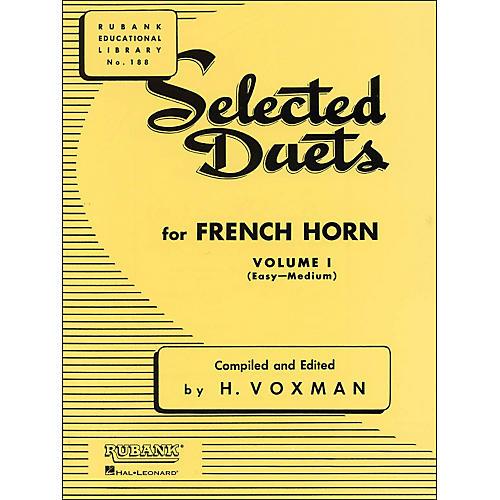 Hal Leonard Rubank Selected Duets French Horn Vol 1 Easy/Medium-thumbnail