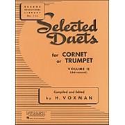 Hal Leonard Rubank Selected Duets for Cornet Or Trumpet Vol 2