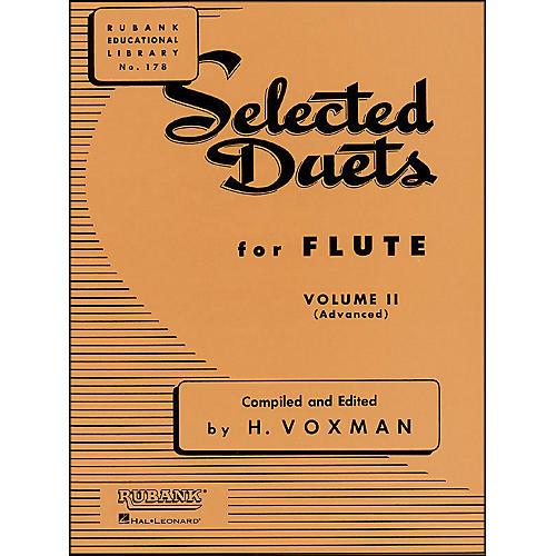 Hal Leonard Rubank Selected Duets for Flute Vol 2 Advanced-thumbnail