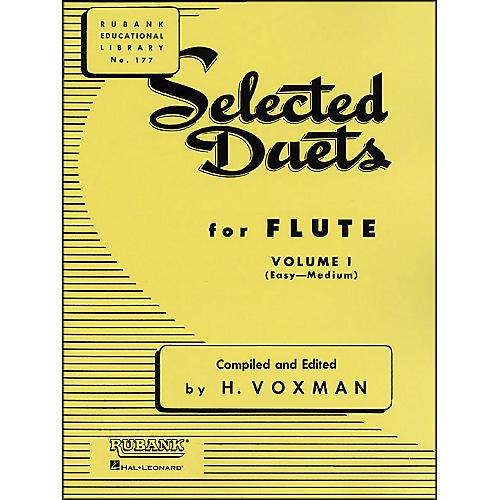 Hal Leonard Rubank Selected Duets for Flute, Vol. 1: Easy–Medium