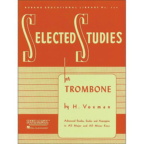 Hal Leonard Rubank Selected Studies for Trombone-thumbnail