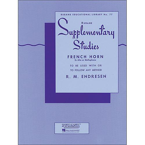 Hal Leonard Rubank Supplementary Studies for French Horn, E Flat Alto Or Mellophone-thumbnail