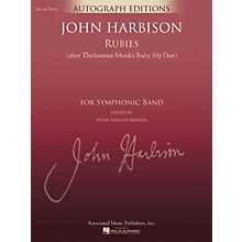 G. Schirmer Rubies (After Thelonious Monk's Ruby, My Dear) Concert Band Level 5 Composed by John Harbison