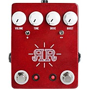 JHS Pedals Ruby Red 2-in-1 Overdrive Boost Butch Walker Signature Pedal