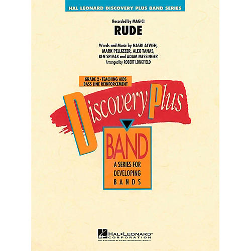 Hal Leonard Rude  - Discovery Plus Concert Band Level 2-thumbnail