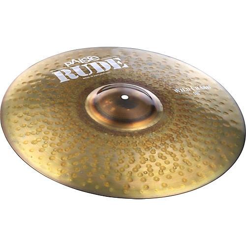 Paiste Rude Wild Crash Cymbal 20 in.