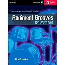 Berklee Press Rudiment Grooves for Drum Set (Book/CD)