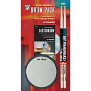 Rudimental Drum Pack Handy Guide CD Drum Pad & Sticks
