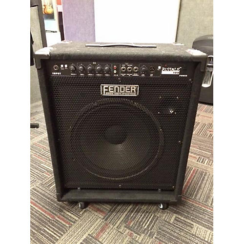 used fender rumble 100 1x15 100w bass combo amp guitar center. Black Bedroom Furniture Sets. Home Design Ideas