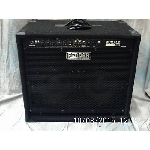 used fender rumble 100 210 100w 2x10 bass combo amp guitar center. Black Bedroom Furniture Sets. Home Design Ideas