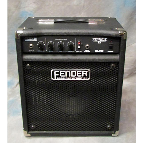 Fender Rumble 15 V2 15W 1X8 Bass Combo Amp