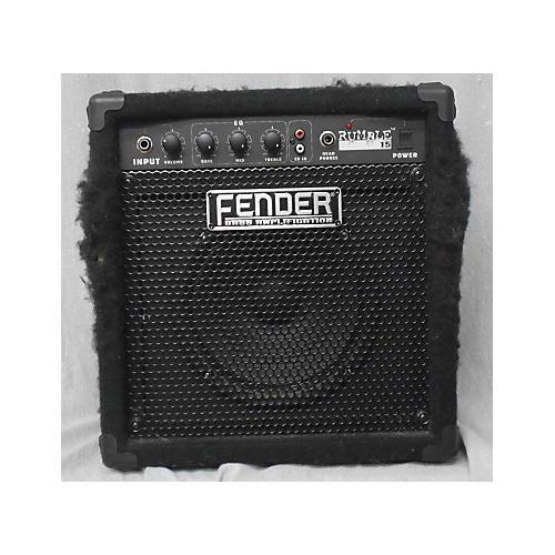 Fender Rumble 15 V2 15W 1X8 Bass Combo Amp