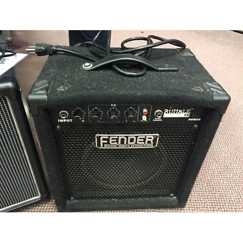 Fender Rumble 15 V2 15W 1X8 Black Bass Combo Amp