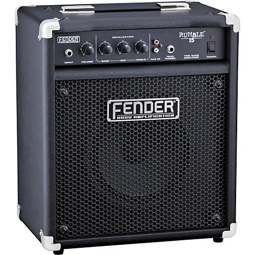 Fender Rumble 15 V2 15W 1x8 Bass Combo Amp Black