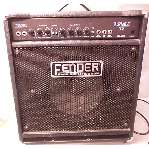Fender Rumble 75 75W 1X12 Bass Combo Amp-thumbnail