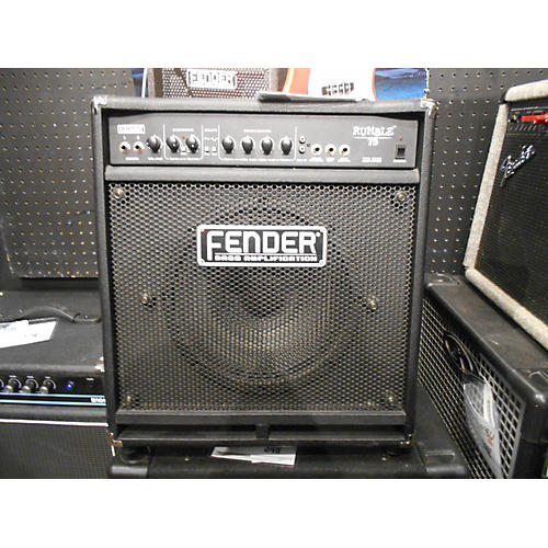 Fender Rumble 75 75W 1X12 Bass Combo Amp